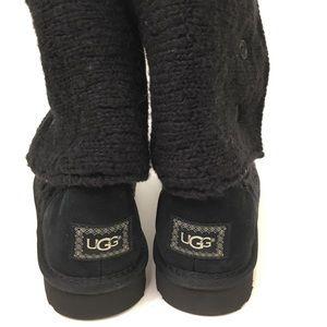 60f53b75ac0 Ugg Lattice Cardy knit cuffed boots Sz 10 NWT